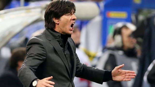 Bundestrainer Jogi Löw konnte in Mailand bei seinem 100. Spiel keinen Erfolg bejubeln.