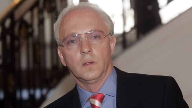 Olli Dittrich als Beckenbauer-Double Schorsch Aigner.
