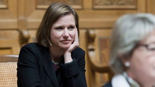 FDP-Nationalrätin Christa Markwalder