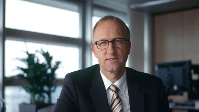 Der Zuger Regierungsrat Peter Hegglin.