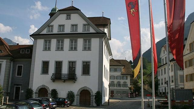 Das Rathaus von Stans.