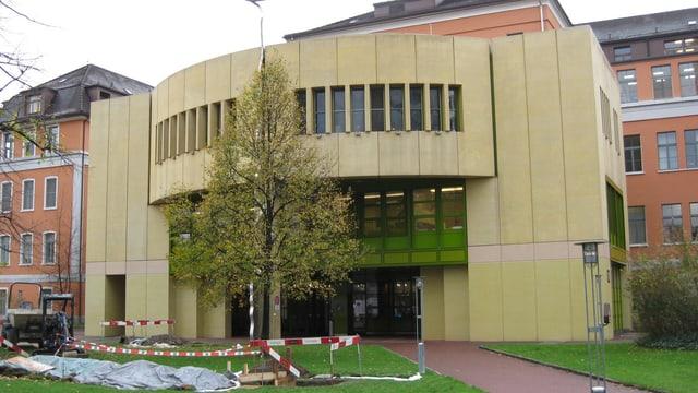 Gebäude der Kardiologie am Kantonsspital St. Gallen
