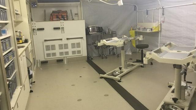 Bild der medizinischen Station am WEF