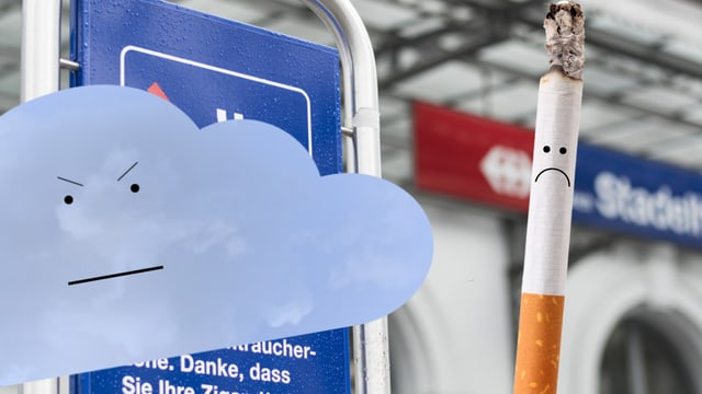 Laschar ir video «Il scumond da fimar: la aria schubra cunter la cigaretta!»