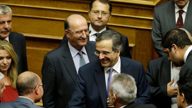 Der griechische Ministerpräsident Antonis Samaras