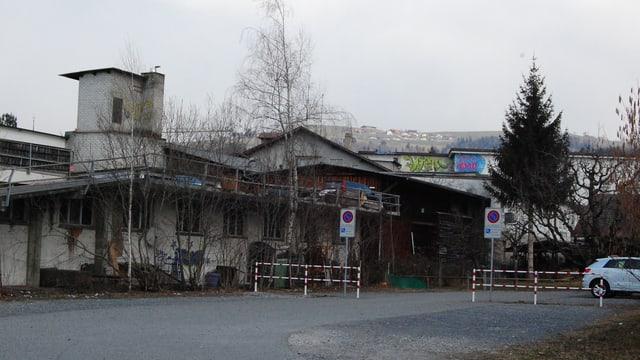 Altes Fabrikareal in Steffisburg.