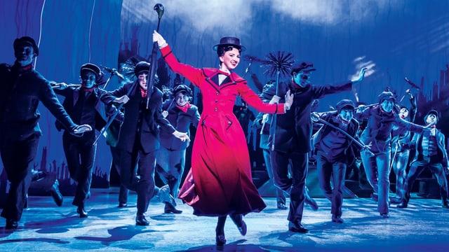 Bühnenbild aus dem Muscial «Mary Poppins»