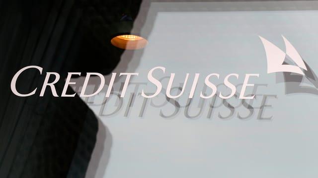 Il logo da la banca Credit Suisse.