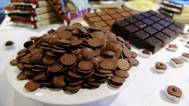 Schokolade von Barry Callebaut.