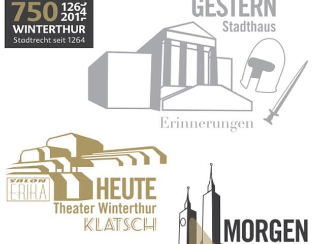 Gestern, heute, morgen: Die grosse Trilogie zum 750-Jahr-Jubiläum von Winterthur hat begonnen.