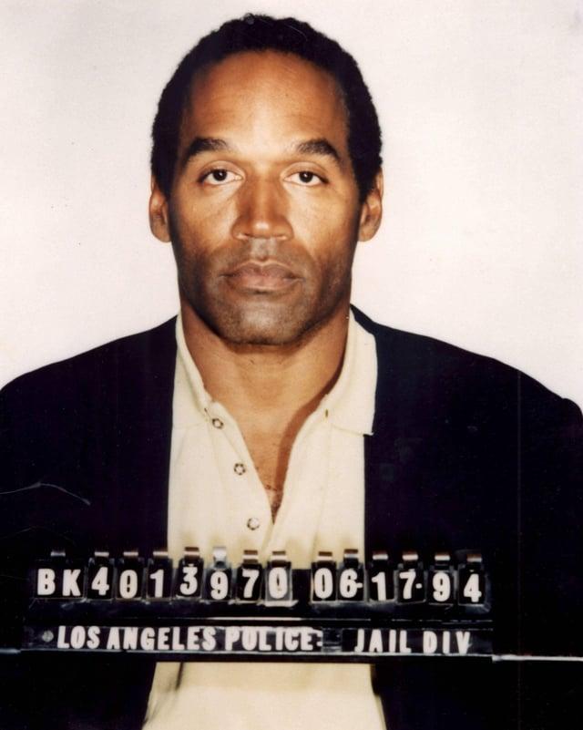 OJ Simpson am 17. Juni 1994.