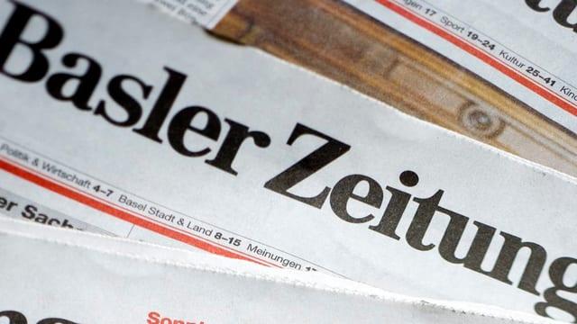 Ausgaben der «Basler Zeitung»