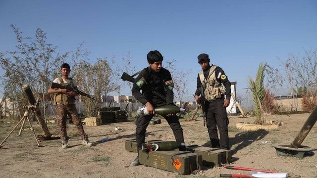 Im Irak kämpfen Kindersoldaten für Islamisten, zunehmend auch für den IS.