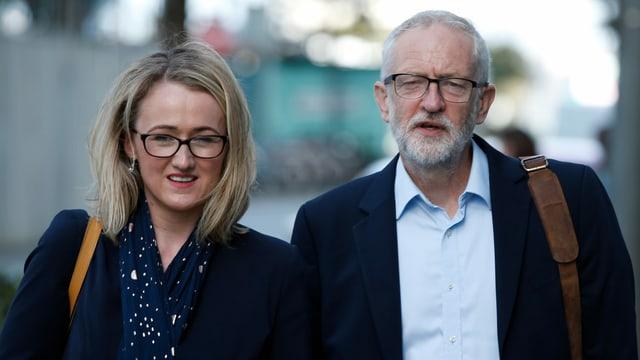 Long-Bailey und Corbyn