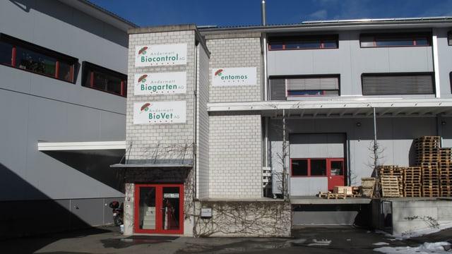 Das Produktionsgebäude der Andermatt Gruppe in Grossdietwil.