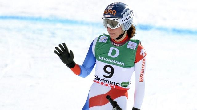 Gisins Verletzung verhindert weitere Slalom-Starts.