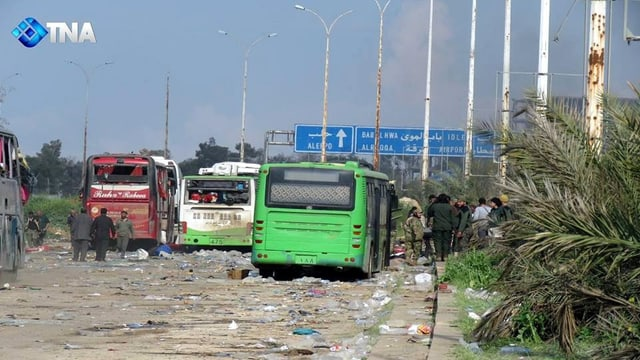 Bus demolids.