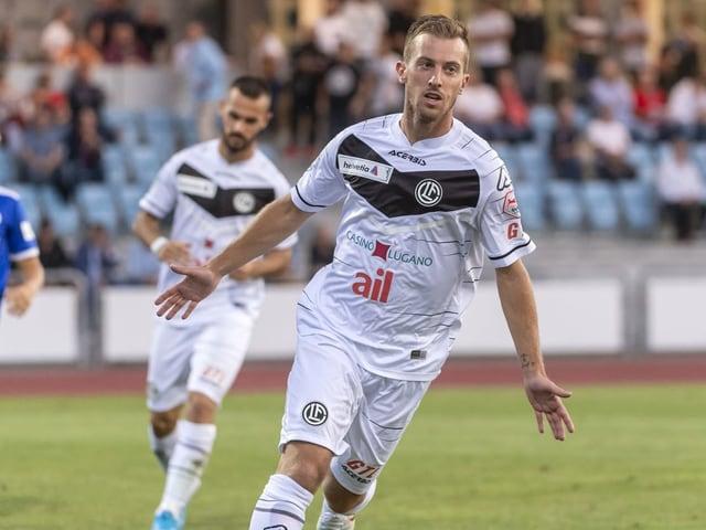 Marco Aratore nach seinem Treffer gegen Concordia.