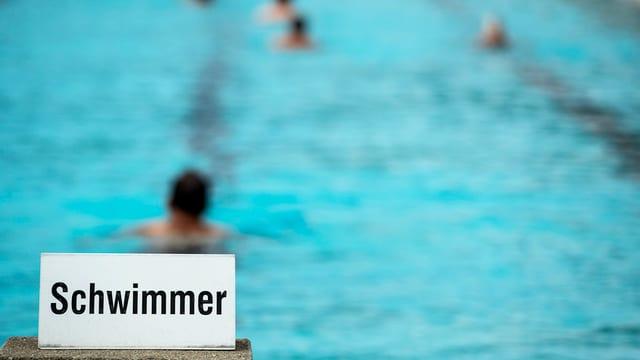 Schwimmbad.
