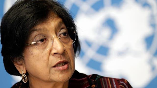 UNO-Menschenrechtskommissarin Pillay