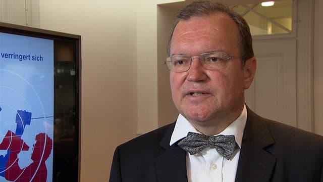 Video «Roger Schawinski im Gespräch mit Claude Longchamp» abspielen