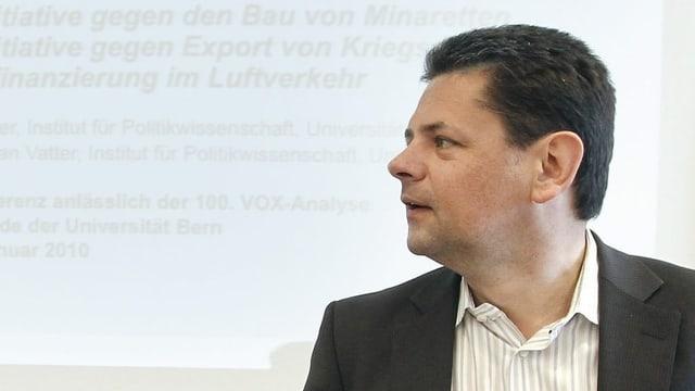 Der Politologe Adrian Vatter.