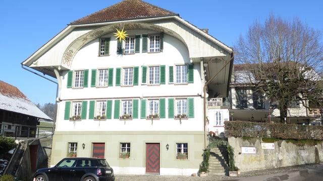 Aussenansicht Gasthof Löwen Heimiswil