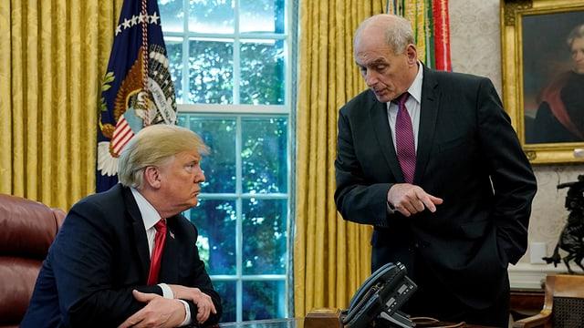 Trump und Kelly