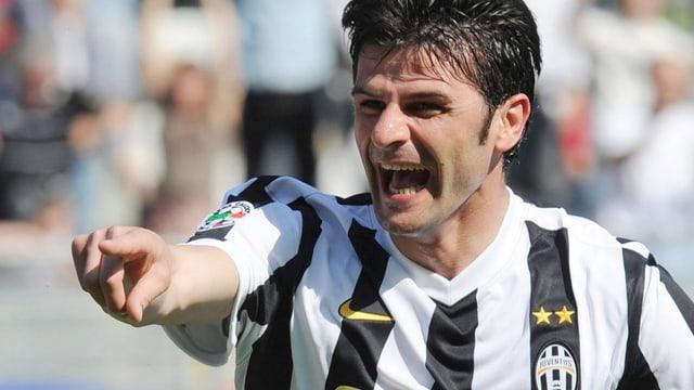 Vincenzo Iaquintas Vertrag mit Juventus Turin lief 2013 aus.