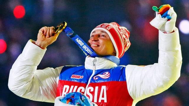 purtret dal passlunghist russ Alexander Legkov