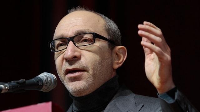 Gennadi Kernes bei einer Rede vor dem Kongress der Stadt Charkow im Februar dieses Jahres.