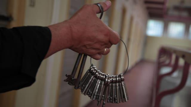 Schlüssel Gefängnisgang
