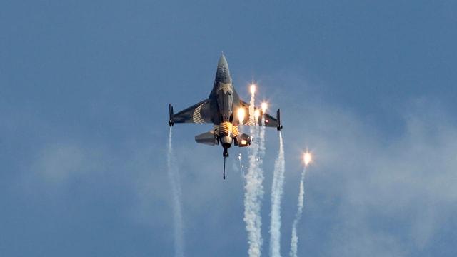 F-16-Bomber im Einsatz