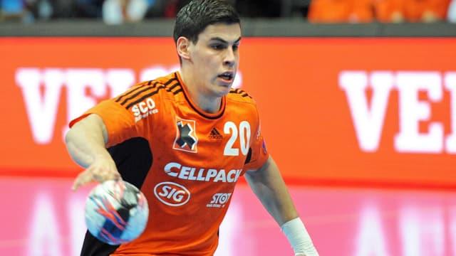 Kadetten-Youngster Luka Maros zeigte eine starke Leistung.