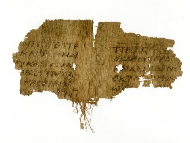 Papyrusfragment