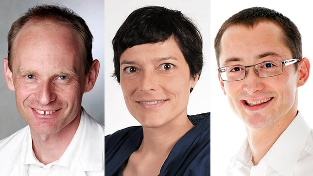 Cristina Crotti, Dr. Berta Truttmann und Dr. Marc Vogel