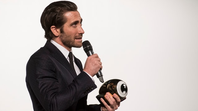 Jake Gyllenhaal am ZFF mit dem Golden Eye Award