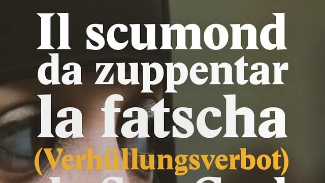 Laschar ir video «Il scumond da zuppentar la fatscha da Son Gagl»