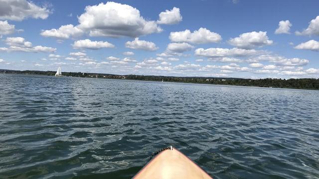 Klare Sicht auf dem Greifensee