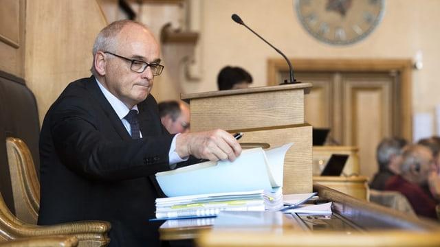 Regierungsrat Pierre Alain Schnegg.
