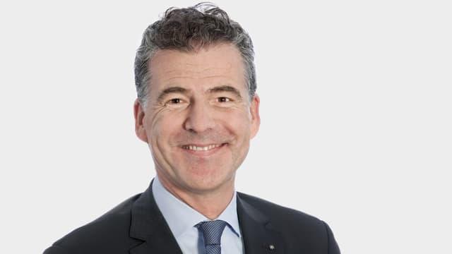 Porträt von Mark Bachmann, abtretender Verwaltungsratspräsident der Luzerner Kantonalbank.