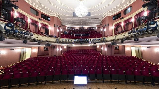 der Zuschauerraum des Zürcher Schauspielhaus