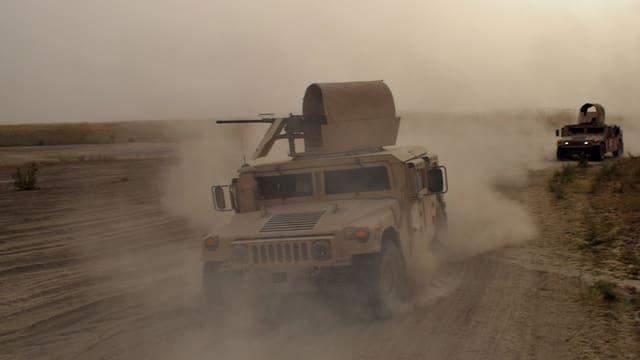 Vehiculs da l'armada iracaisa.