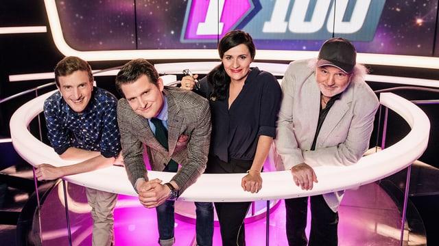 Video «Das «1 gegen 100 Comedy-Special» am Samstagabend» abspielen