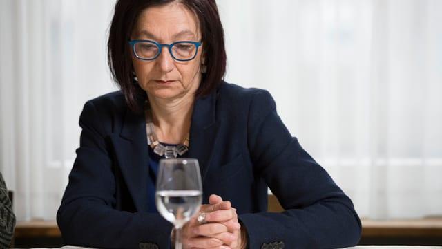 Alt-Nationalrätin Yvonne Gilli