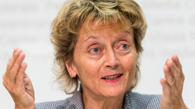 Bundesrätin Eveline Widmer-Schlumpf