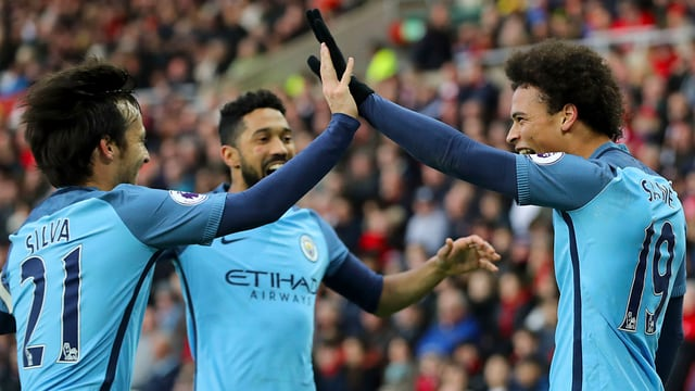 Manchester City lässt dem Tabellenletzten keine Chance.