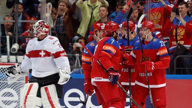 Il team russ da hockey sin glasch.