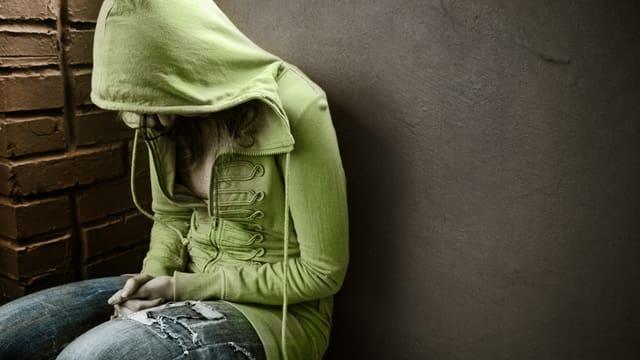 Teenager in Armut