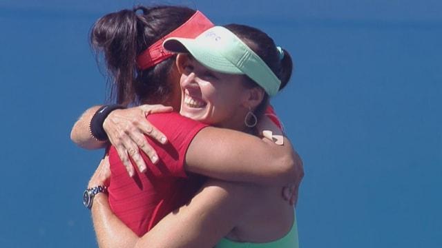 Martina Hingis und Sania Mirza gewinnen an den US Open.